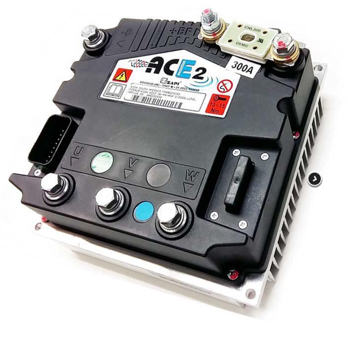 Controlador de velocidade motor elétrico trifásico
